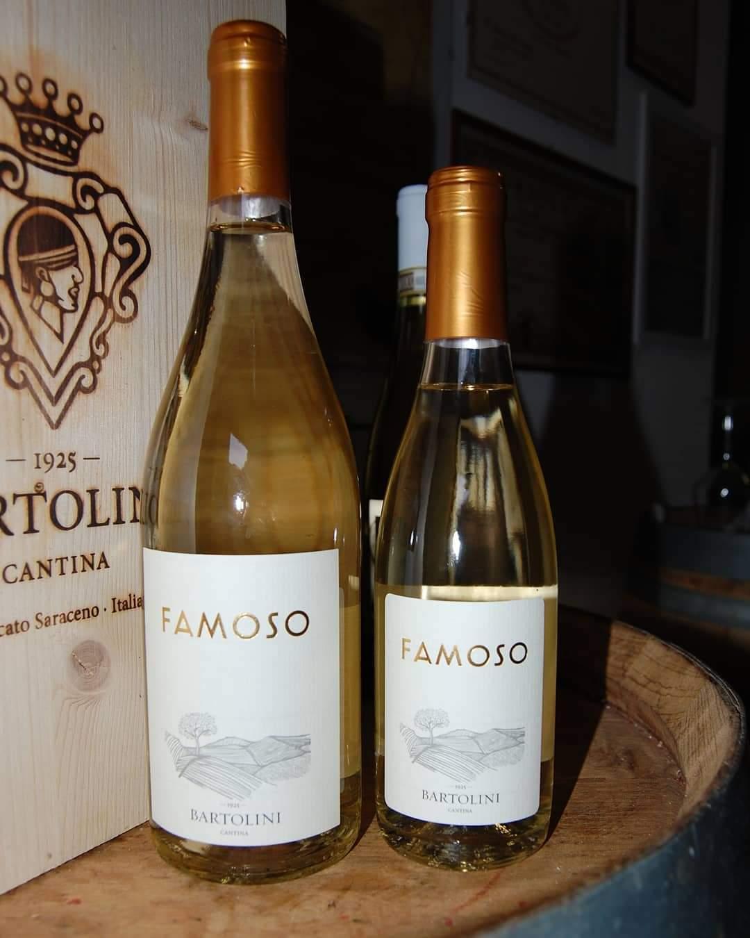 Due bottiglie di Famoso di Cantina Bartolini